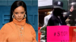 Rihanna Attends Stop Asian Hate Protest in New York City