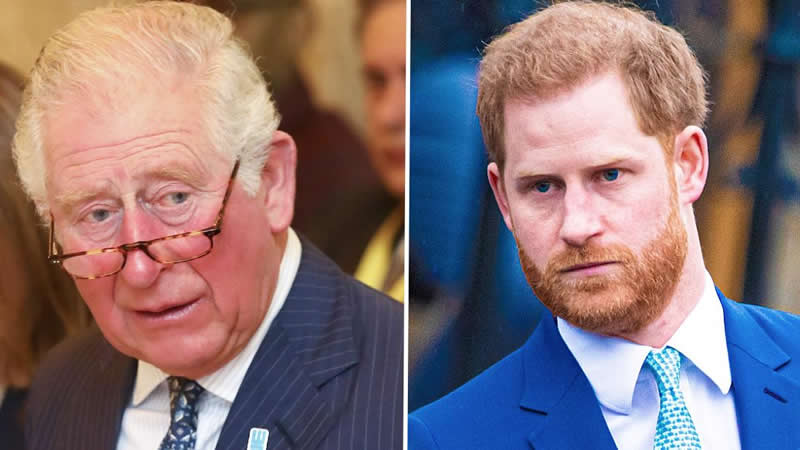 rince Charles claims Harry