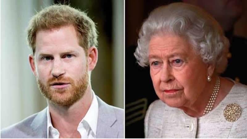 Queen breaks down Harry relationship